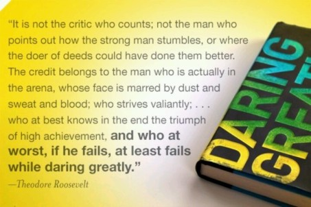 Quote - Teddy Roosevelt