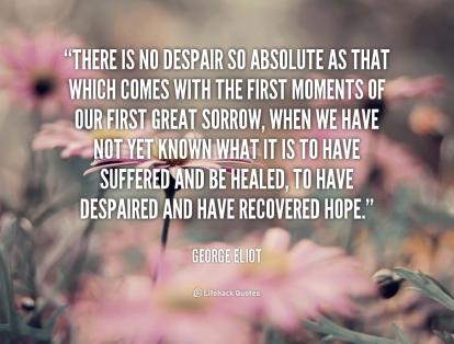 Quote- Hope. George Elliott