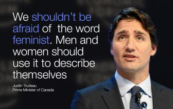 Justin Trudeau Feminist