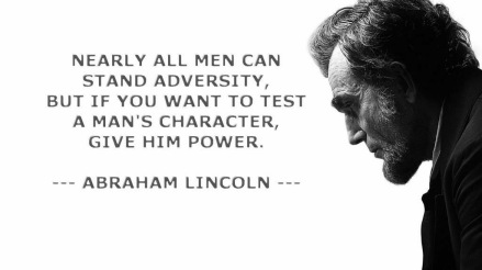 Abraham Lincoln-give him power