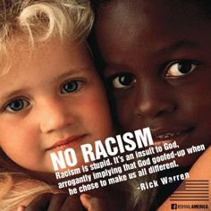 Rick Warren on Racism