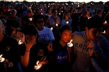 Parkland, Florida Vigil